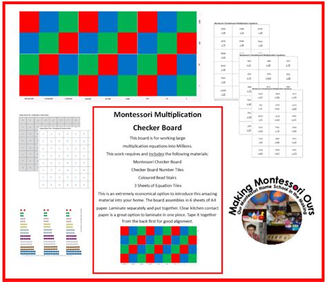 printable montessori materials making montessori ours education printables february 2014