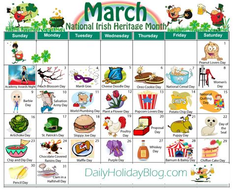 march 2016 bizarre and unique holidays holiday insights 2015 october calendar with holidays calendar template 2016