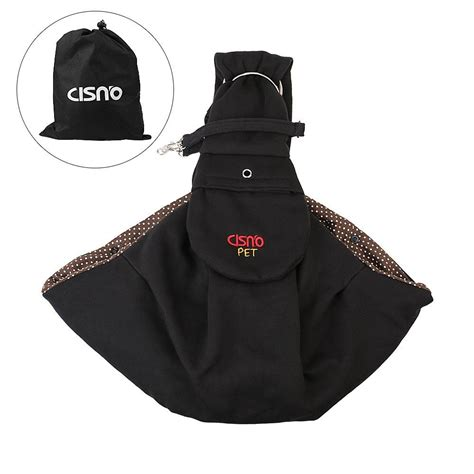 pouch carrier cisno sling carrier with pouch adjustable carry puppy pet