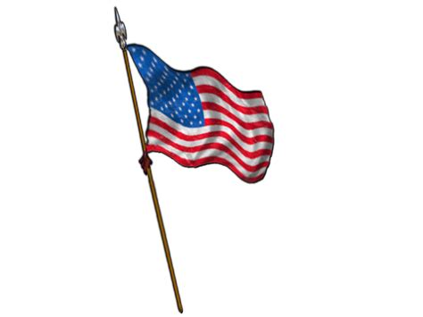american flag clipart the cliparts