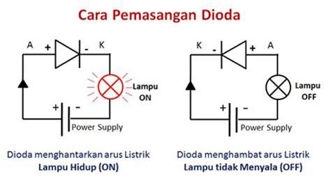 dioda pada motor prinsip kerja dioda pada peralatan elektronika 187 skemaku