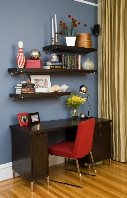 Rak Cerobong Rumah gambar rak ruang kerja rumah modern desain minimalis