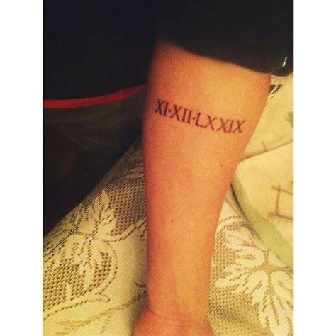 tattoo font roman roman numeral tattoo tattoo quotes placements fonts