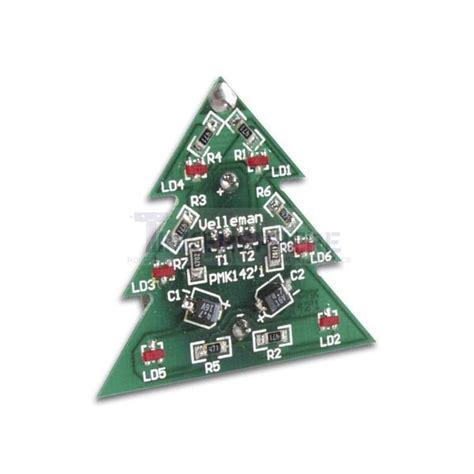 electronic christmas tree soldering kit tinkersphere
