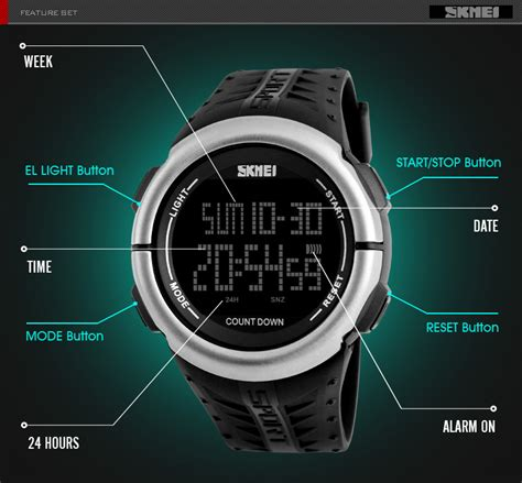 Jam Tangan Swis Army Water Resist skmei jam tangan digital sporty pria 1286 army green jakartanotebook