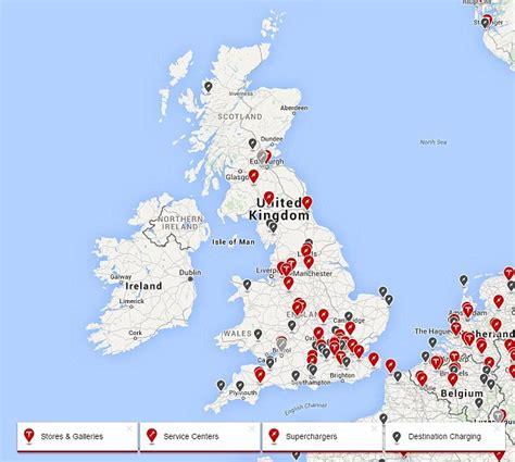 tesla map tesla supercharger locations map tesla get free image