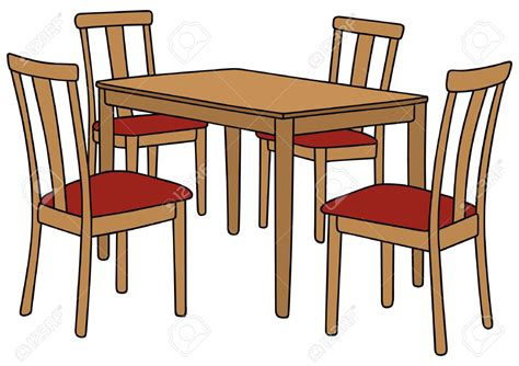 table with chairs clipart kitchen table clipart clipground