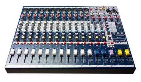 Mixer Audio Soundcraft Bekas Soundcraft Efx12 K Us 12 Channel 2 Audio Mixer With Lexicon Fx