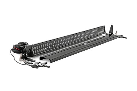 rough country light bar review 50 inch straight cree led light bar black series