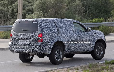 Nissan Suv Trucks by Nissan Spied Testing New 2018 Suv Based On Navara Np300