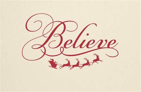 Home Decor Owls believe christmas wall decal tweetheartwallart
