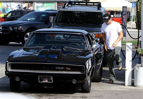 who owns kendall toyota brody jenner fills up his dodge charger cars