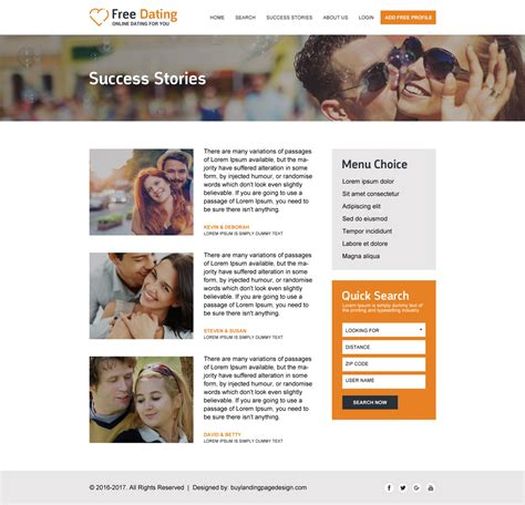 free responsive dating website templates 171 online dating