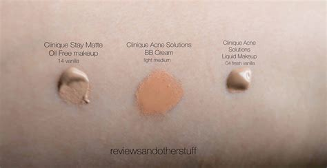 Clinique Acne Solutions Foundation clinique liquid foundations review