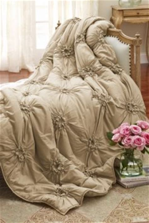 soft surroundings bedding bella smocked coverlet coverlets bedding home decor