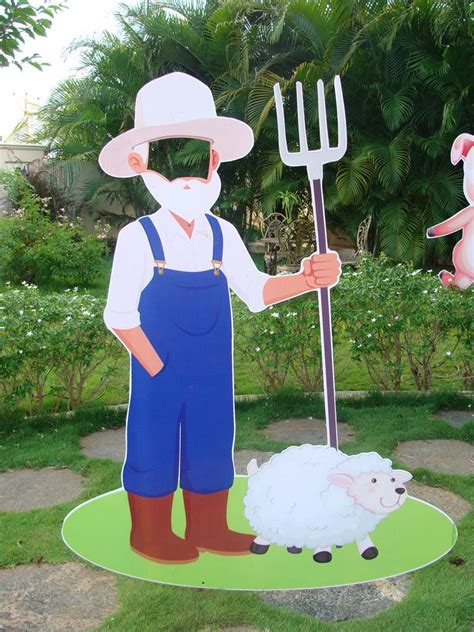 Barnyard Theme Farmer Photobooth Untumble M