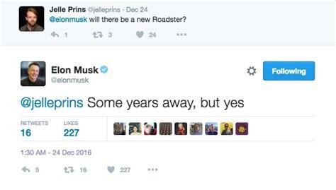 elon musk zipline tweet elon musk confirms new tesla roadster in tweet autoevolution