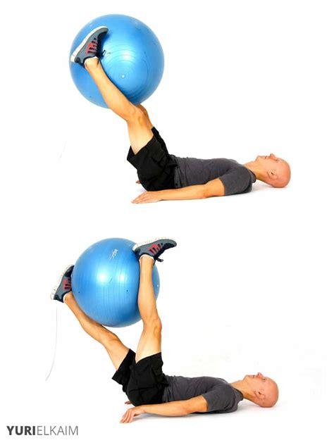 stability ball exercises  core training yuri elkaim