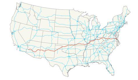 kentucky freeway map u s route 60