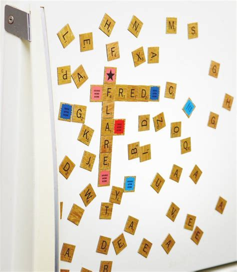 fridge scrabble pin by chel panda on furniture i want