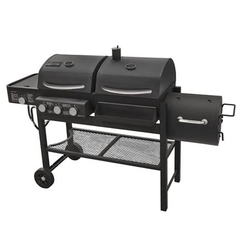 smoke hollow gas charcoal smoker combination grill review