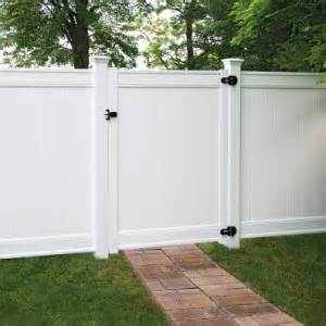Front Yard Fence Cost - vinyl fence vinyl fencing terminology freedom outdoor