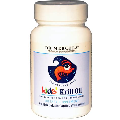 Diskon Dr Mercola Krill 60 Capsules dr mercola krill 60 fish gelatin caplique caps iherb