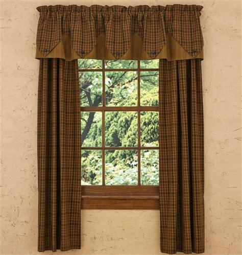 primitive panel curtains primitive spice lined tieback curtain panels 72 quot x 63 quot