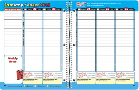 school agenda template high school student planner template free printable