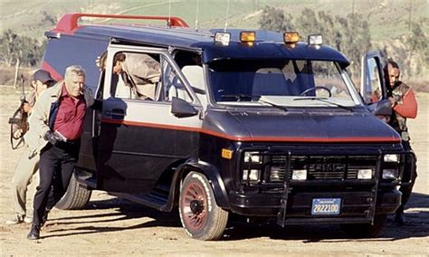 Starsky And Hutch Original Car The A Team The Van