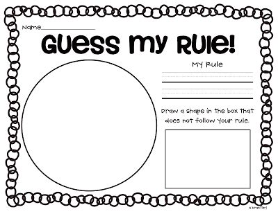 pattern rule grade 4 crazy for first grade attributes and sorting fun