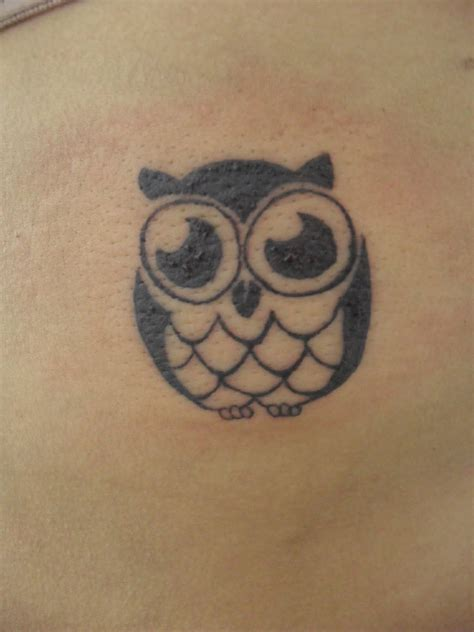 small simple owl tattoos small tattoos for tattoos