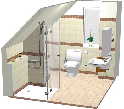 kleines badezimmer umgestaltet ideen budget modernes badezimmer mit dachschr 228 ge goetics