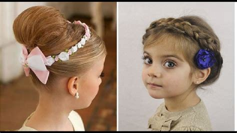 party hairstyles for toddlers hair style for kids girl for party youtube