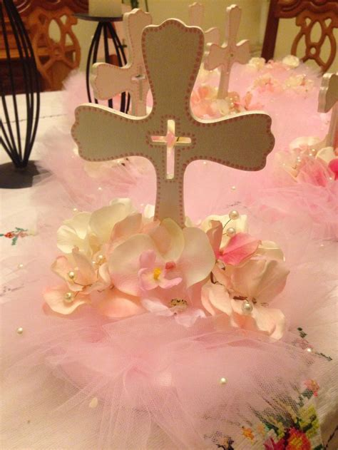 best 25 baptism table centerpieces ideas on pinterest