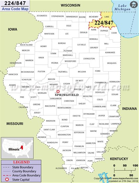 area code maps usa 847 area code map where is 847 area code in illinois