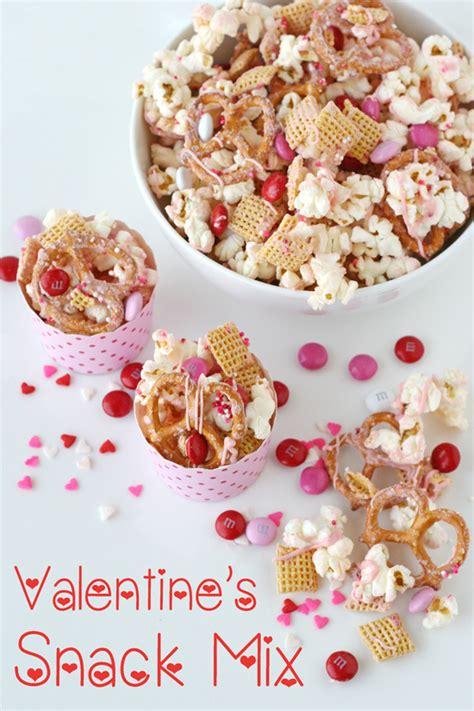 valentines day snacks valentine s snack mix glorious treats