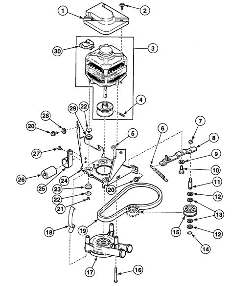speed washer parts diagram motor assy diagram parts list for model swt821wn speed