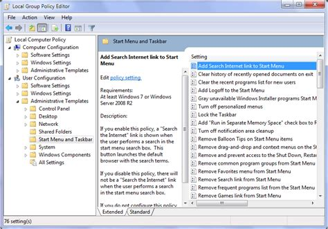 how to open administrative templates in windows 7 how to add search the link to windows 7 start