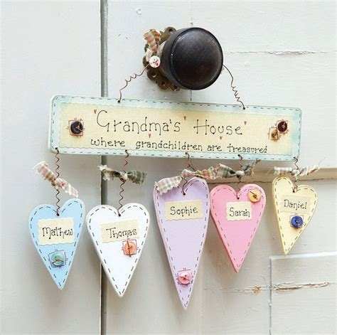 Handmade Gifts For Grandparents - great grandparents day gift ideas for to craft