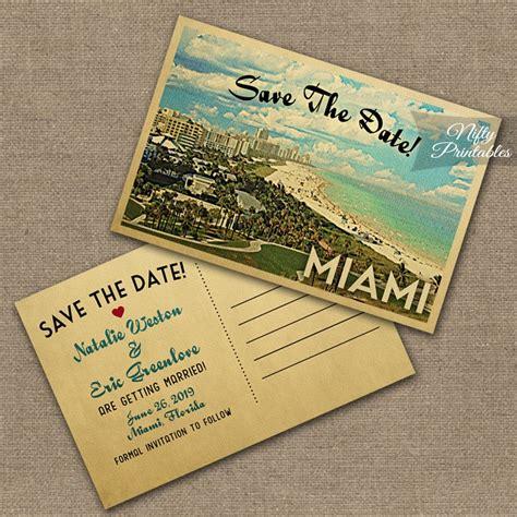 Wedding Invitations Miami by Miami Florida Wedding Invitations Vtw Nifty Printables