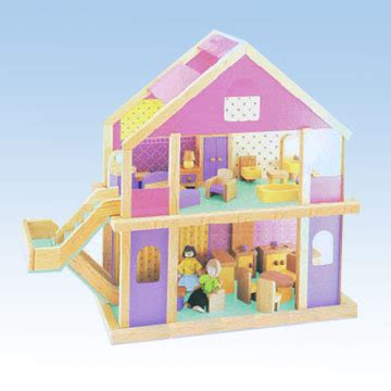 dolls play house wooden doll playhouse