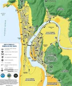 map of pacific city oregon the new tsunami evaucation maps for pacific city
