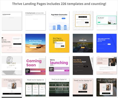 How I Increased My Affiliate Sales 2x With Thrive Architect Thrive Architect Landing Page Templates