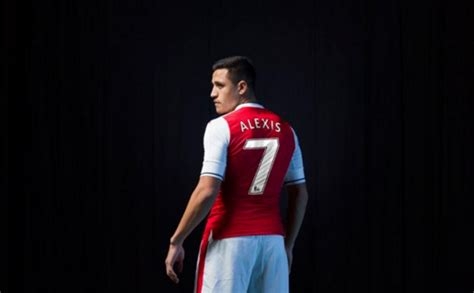 Alexis Sanchez Kit Number | arsenal star alexis sanchez revealed as gunners new no 7