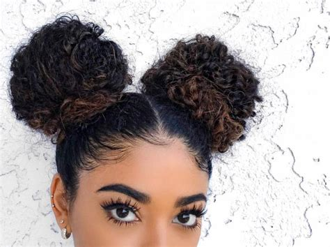 curly haircuts nj 83 best double buns images on pinterest natural hair