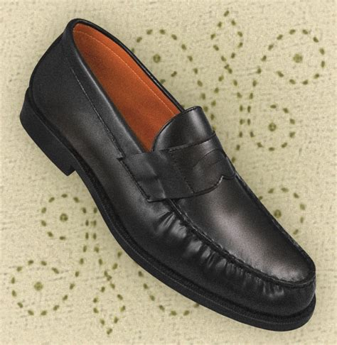 aris allen shoes ari 8157 bk s black loafer shoes from aris allen