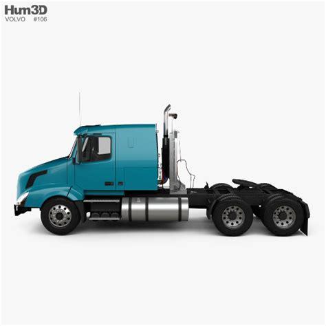 volvo truck 2011 volvo vnl 430 tractor truck 2011 3d model hum3d