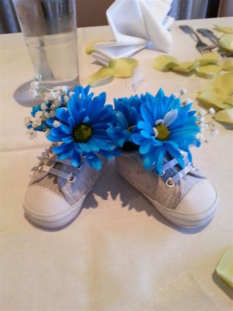 baby shower table decorations 25 best ideas about baby shower centerpieces on pinterest