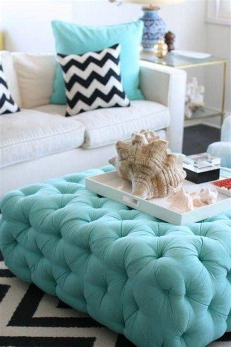 tufted turquoise ottoman teal tufted ottoman e80 verambelles